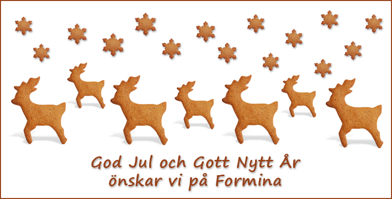God Jul önskar Formina